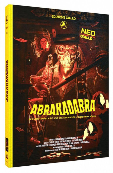 Abrakadabra - Limited Mediabook Edition - Cover B [Blu-ray+DVD+CD]