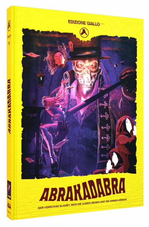 Abrakadabra - Limited Mediabook Edition - Cover C [Blu-ray+DVD+CD]