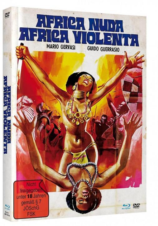 Africa Nuda, Africa Violenta - Mediabook - Cover A [Blu-ray+DVD]