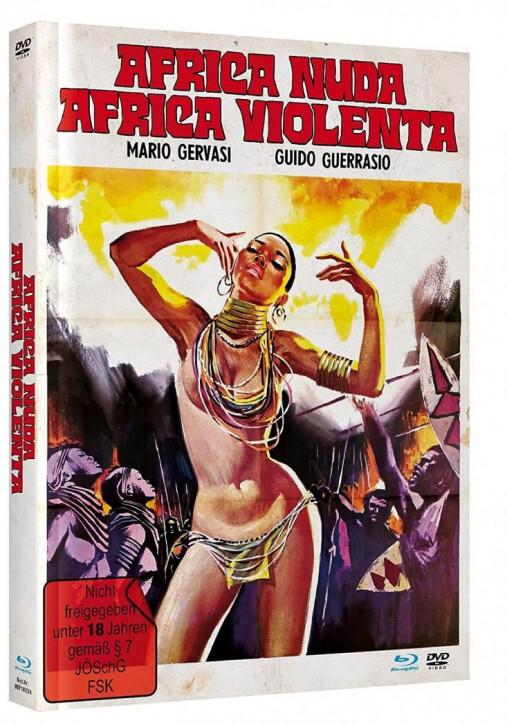 Africa Nuda, Africa Violenta - Mediabook - Cover B [Blu-ray+DVD]