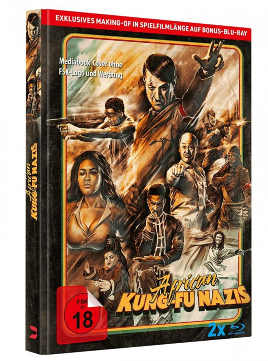 African Kung Fu Nazis - Limited Mediabook Edition [Blu-ray]