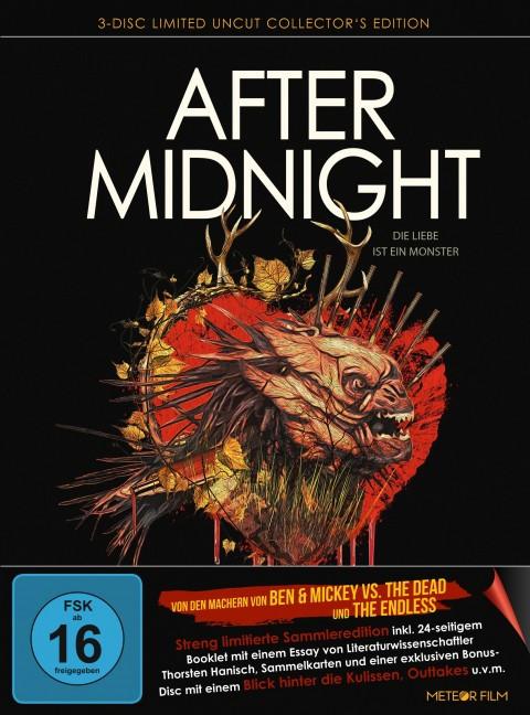 After Midnight - Die Liebe ist ein Monster - Limited Mediabook Edition [Blu-ray+DVD]