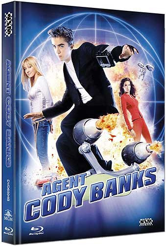 Agent Cody Banks  - Limited Collector's Edition - Cover B [Blu-ray+DVD]