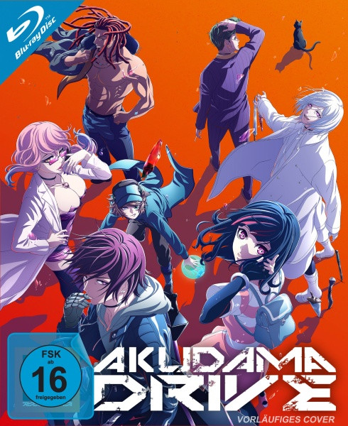 Akudama Drive - Staffel 1 - Vol. 1 [Blu-ray]