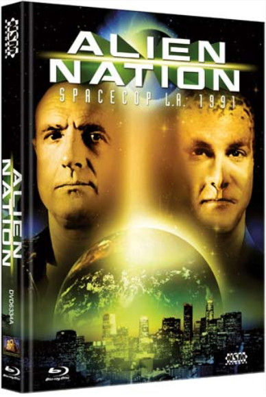 Alien Nation - Spacecop L.A. 1991 - Limited Collector's Edition - Cover A [Bluray+DVD]