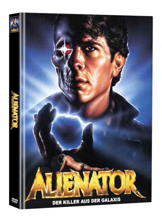 Alienator - Der Killer aus der Galaxis - Limited Mediabook Edition (Super Spooky Stories #89) [DVD]