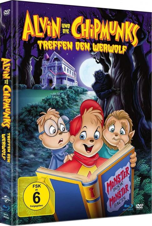 Alvin und die Chipmunks treffen den Werwolf - Mediabook [Blu-ray+DVD]