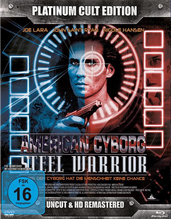 American Cyborg: Steel Warrior (Platinum-Cult-Edition) [Blu-ray+DVD]