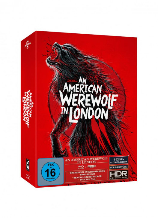An American Werewolf in London - Ultimate Edition - Cover B [4K UHD+Blu-ray+CD]