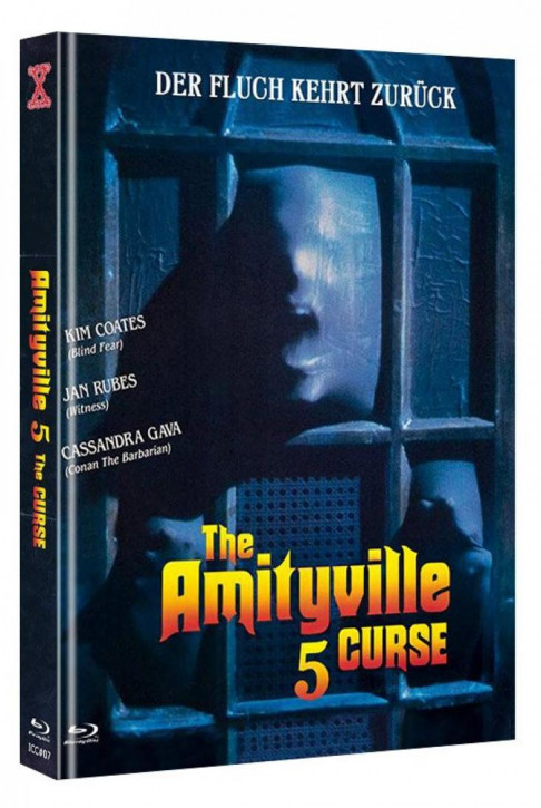 Amityville 5 - The Curse - International Cult Collection #07 - Mediabook - Cover B [Blu-ray+DVD]