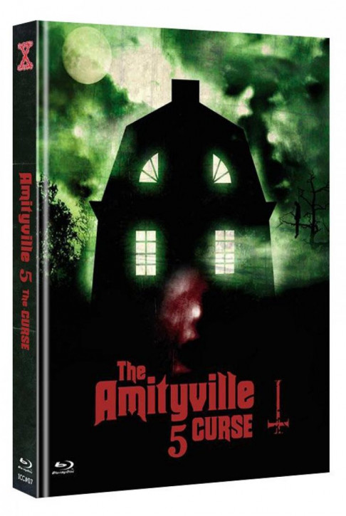 Amityville 5 - The Curse - International Cult Collection #07 - Mediabook - Cover C [Blu-ray+DVD]