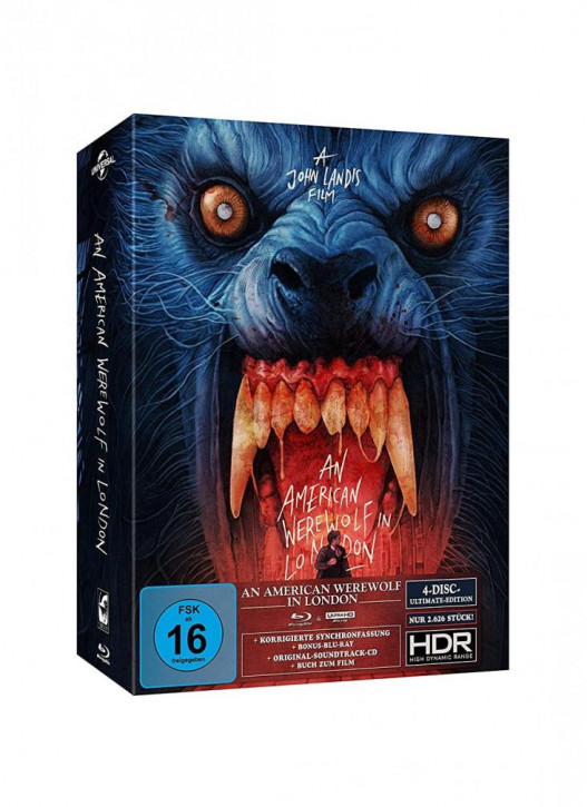 An American Werewolf in London - Ultimate Edition [4K UHD+Blu-ray+CD]
