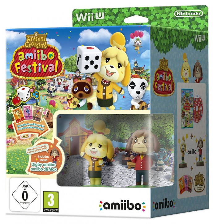 Animal Crossing: Amiibo Festival (AT-PEGI) [Wii U]