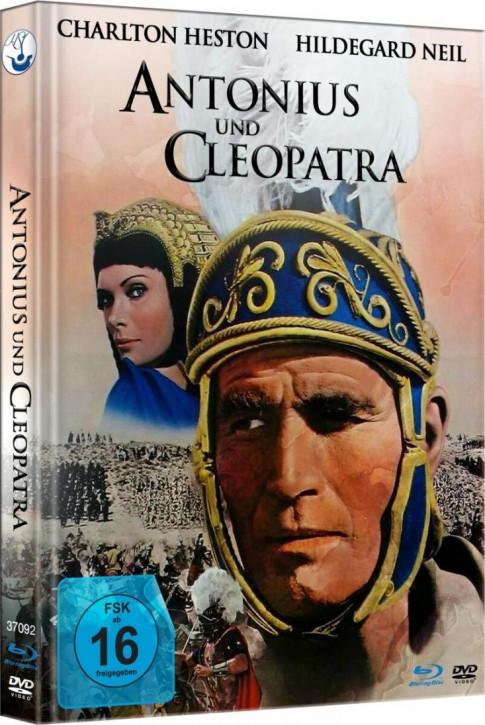 Antonius und Cleopatra - Limited Mediabook [Blu-ray+DVD]
