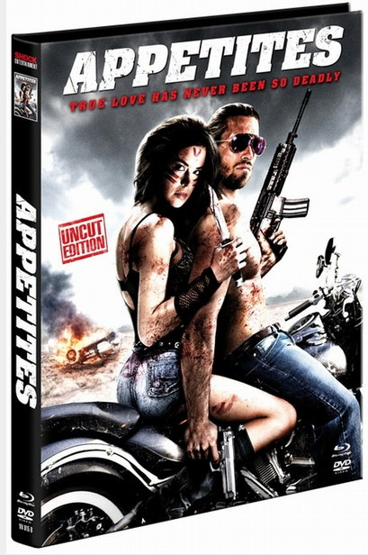 Appetites - Limited Mediabook Edition - Cover B [Blu-ray+DVD]