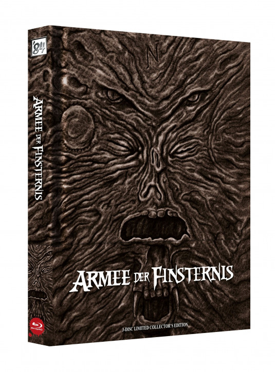 Die Armee der Finsternis - Limited Collectors Edition - Cover A [Blu-ray]