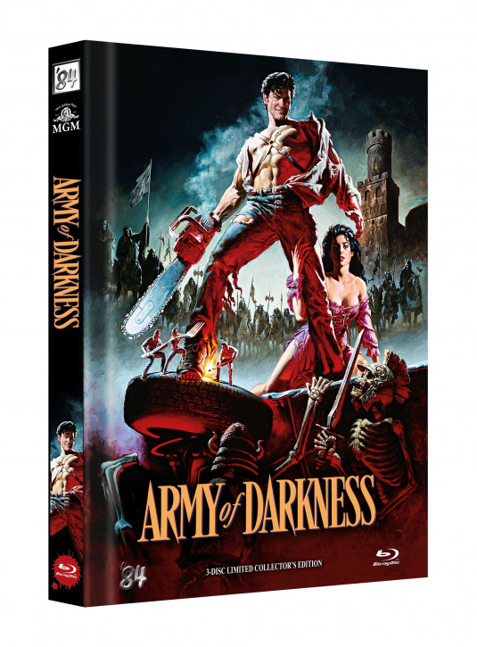 Die Armee der Finsternis - Limited Collectors Edition - Cover B [Blu-ray]