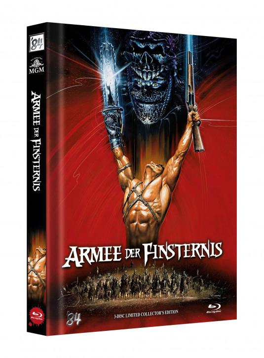 Die Armee der Finsternis - Limited Collectors Edition - Cover C [Blu-ray]