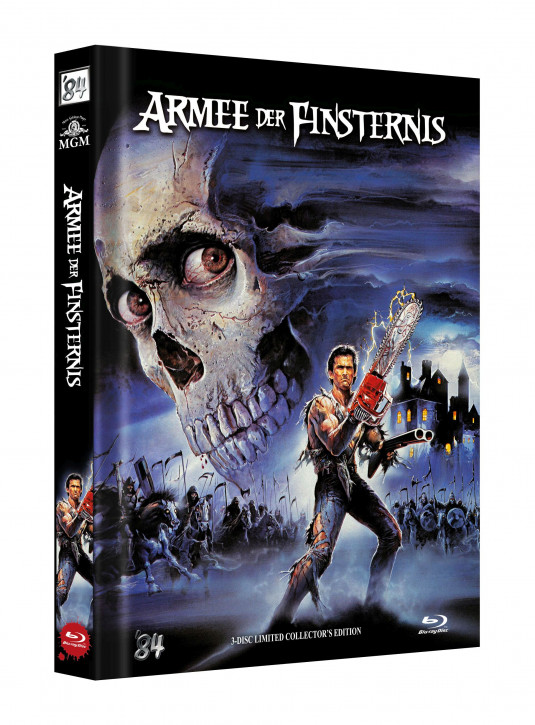 Die Armee der Finsternis - Limited Collectors Edition - Cover D [Blu-ray]