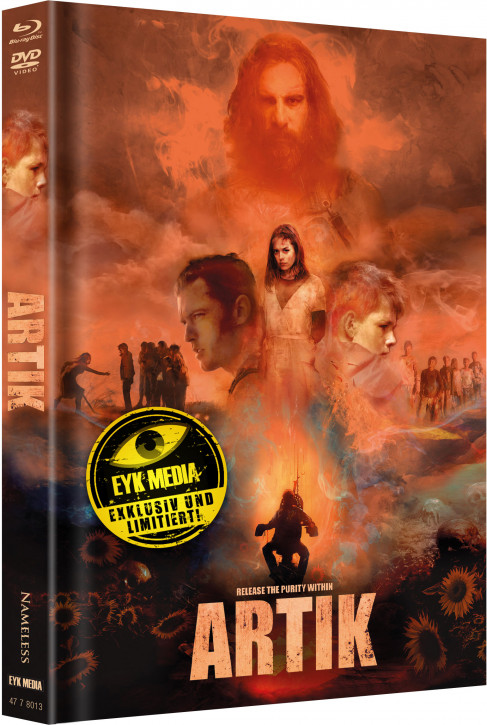 Artik - Limited Mediabook - Cover B [Blu-ray+DVD]