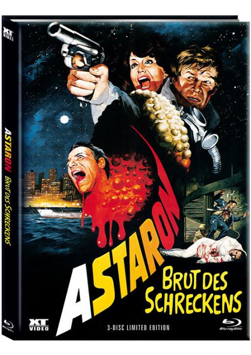 Astaron - Brut des Schreckens - Limited Mediabook - Cover A [Blu-ray+DVD]