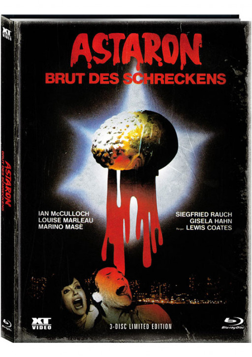 Astaron - Brut des Schreckens - Limited Mediabook - Cover B [Blu-ray+DVD]