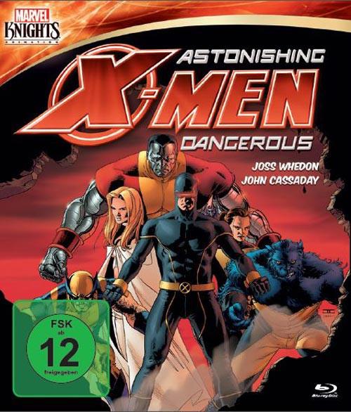 Marvel Knights - Astonishing X-Men: Dangerous (OmU) [Blu-ray]