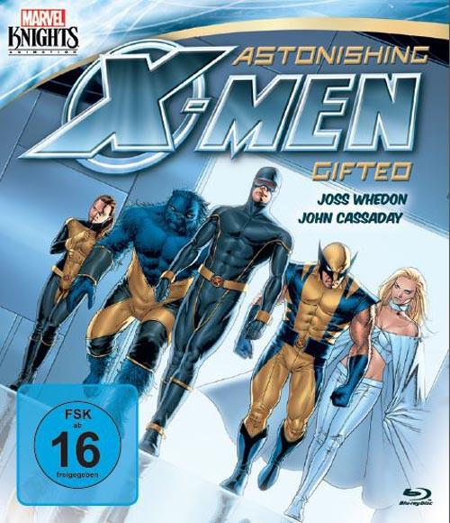 Marvel Knights - Astonishing X-Men: Gifted (OmU) [Blu-ray]