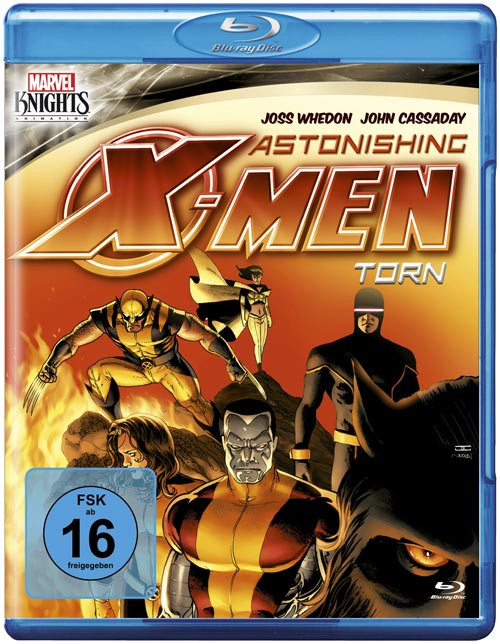 Marvel Knights - Astonishing X-Men: Torn (OmU) [Blu-ray]