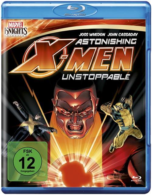 Marvel Knights - Astonishing X-Men: Unstoppable (OmU) [Blu-ray]
