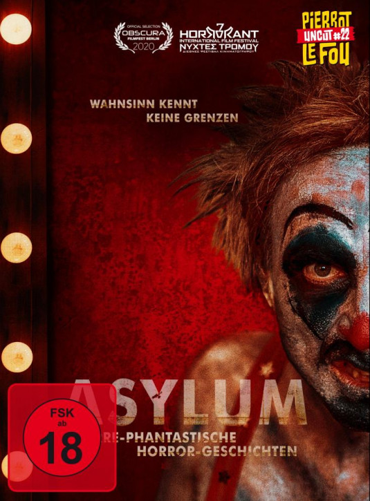 Asylum - Irre-phantastische Horror-Geschichten Limited Mediabook -  Cover A [Blu-ray+DVD]