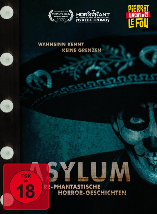 Asylum - Irre-phantastische Horror-Geschichten Limited Mediabook -  Cover C [Blu-ray+DVD]