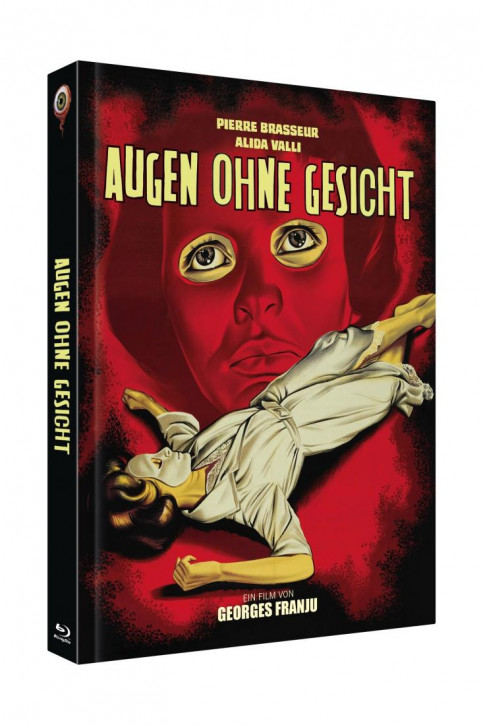 Augen ohne Gesicht - Limited Collectors Edition Cover A [Blu-ray+DVD]