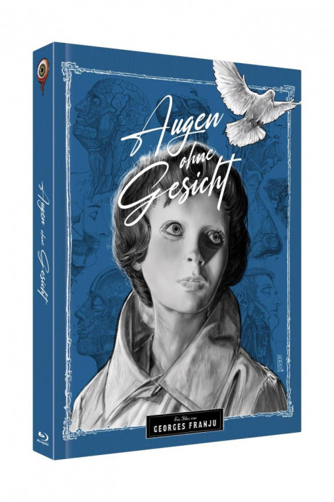 Augen ohne Gesicht - Limited Collectors Edition Cover B [Blu-ray+DVD]
