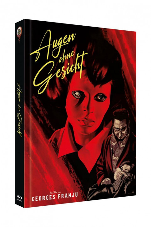 Augen ohne Gesicht - Limited Collectors Edition Cover C [Blu-ray+DVD]