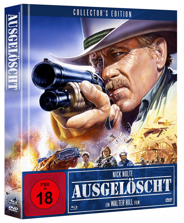 Ausgelöscht - Extreme Prejudice - Limited Mediabook Edition - Cover A [Blu-ray+DVD]