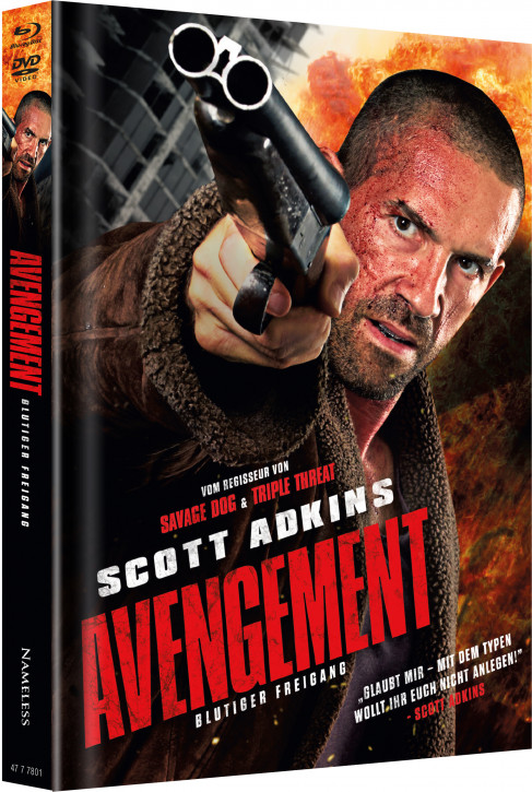 Avengement - Limited Mediabook Edition - Cover A [Blu-ray+DVD]