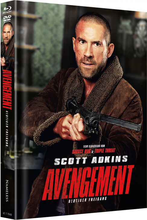 Avengement - Limited Mediabook Edition - Cover B [Blu-ray+DVD]
