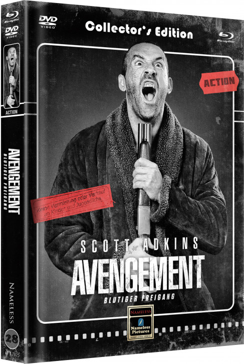 Avengement - Limited Mediabook Edition - Cover C [Blu-ray+DVD]