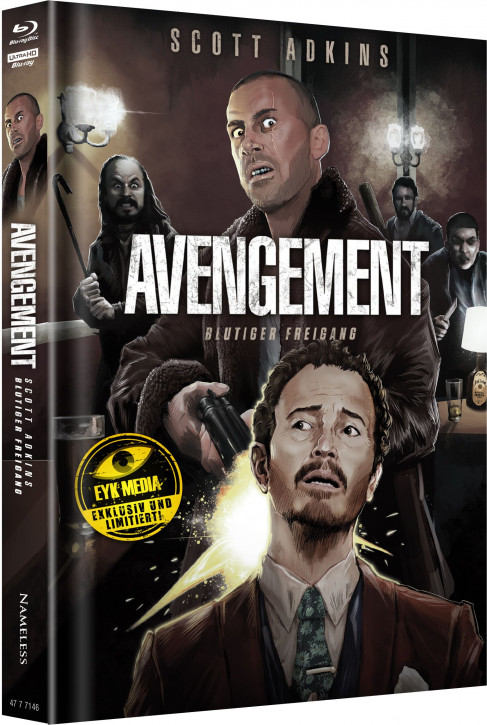 Avengement - Limited Mediabook Edition - Cover G [4K UHD+Blu-ray]