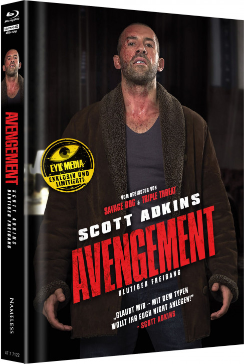 Avengement - Limited Mediabook Edition - Cover H [4K UHD+Blu-ray]