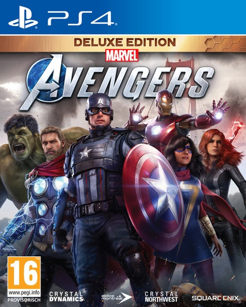 Marvel's Avengers Deluxe Edition [PS4]