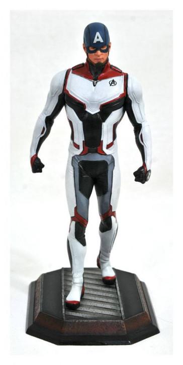 Avengers Endgame Marvel - Movie Gallery PVC Statue - Team Suit Captain America