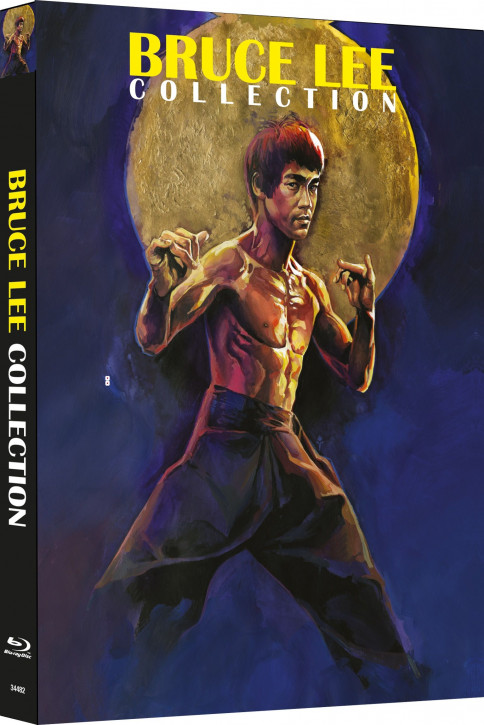 Bruce Lee - Die Collection - Limited Mediabook Edition - Cover A [Blu-ray+DVD]
