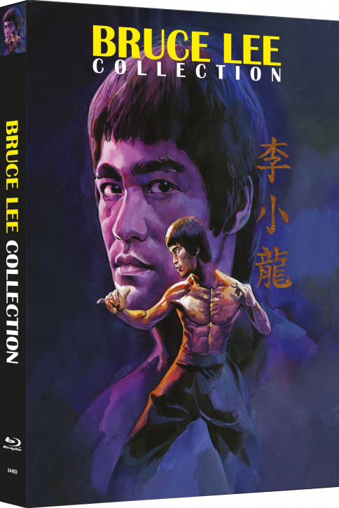 Bruce Lee - Die Collection - Limited Mediabook Edition - Cover B [Blu-ray+DVD]
