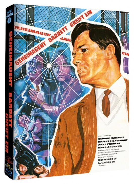 Geheimagent Barrett greift ein - Phantastische Filmklassiker Folge Nr. 4 - Cover A [Blu-ray]