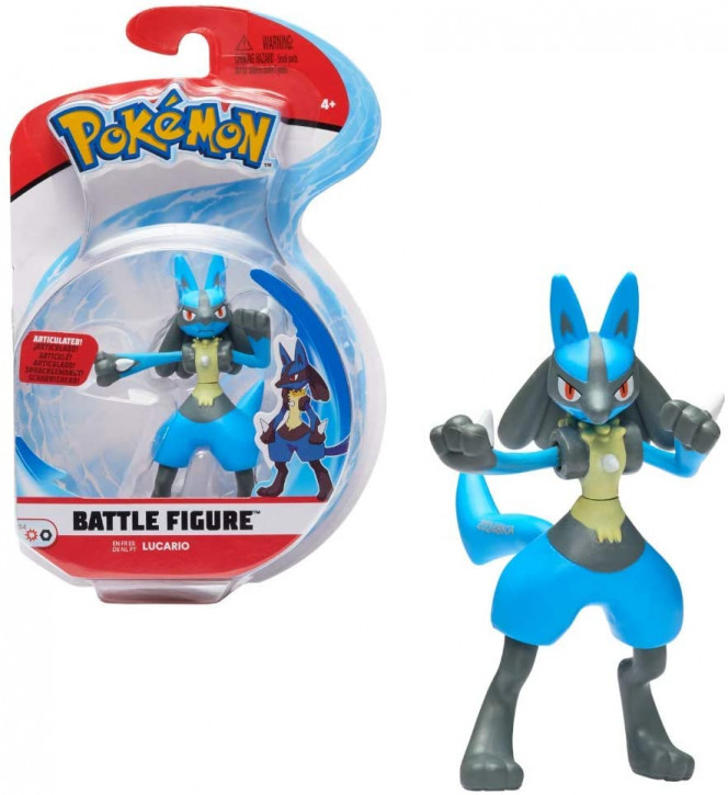 Pokemon Battle Figure - Lucario