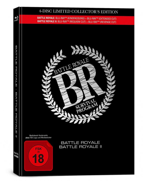 Battle Royale 1+2 - Limited Mediabook [Bluray]