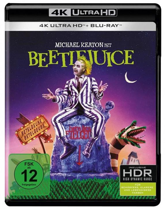 Beetlejuice [4K UHD+Blu-ray]