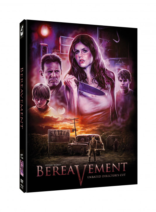Bereavement - Limited Mediabook Edition - Cover C [Blu-ray+DVD]